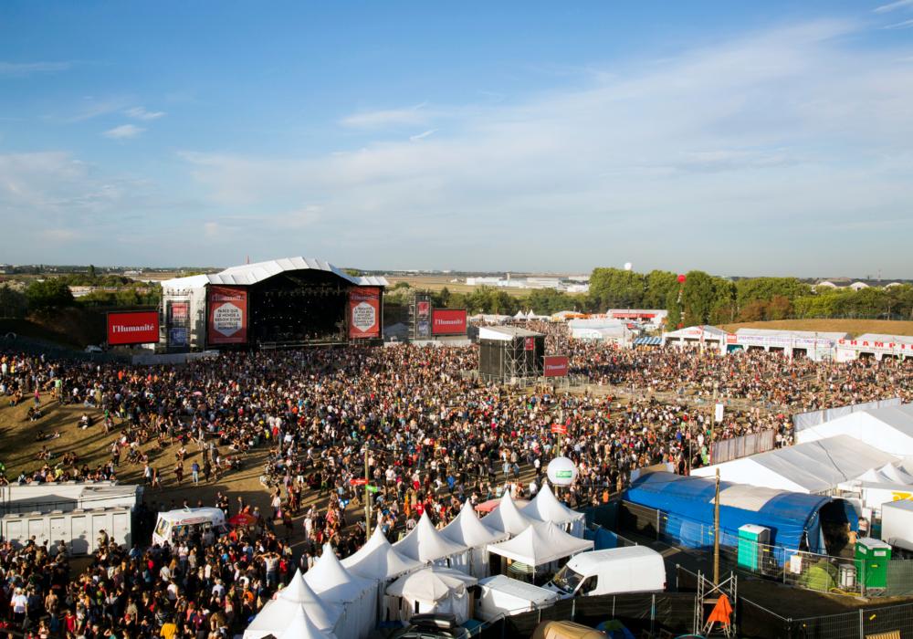 550 000 visiteurs àla Fête de l'Huma!