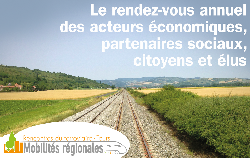 Rencontres nationales du transport régional à Tours