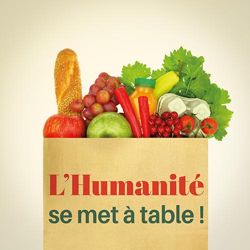 L'Humanité se met à table !
