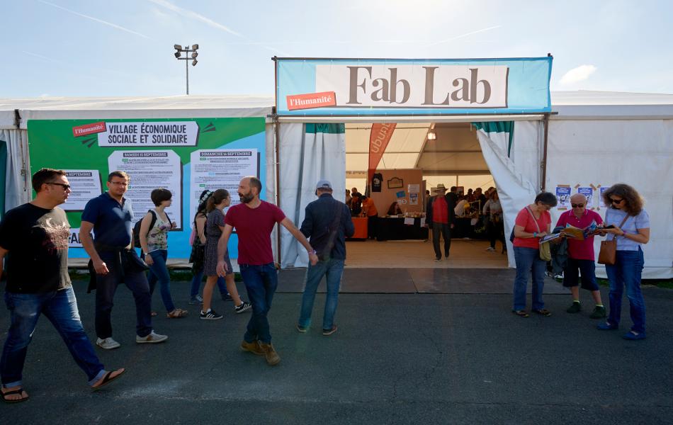 L'entrée des Fab Lab